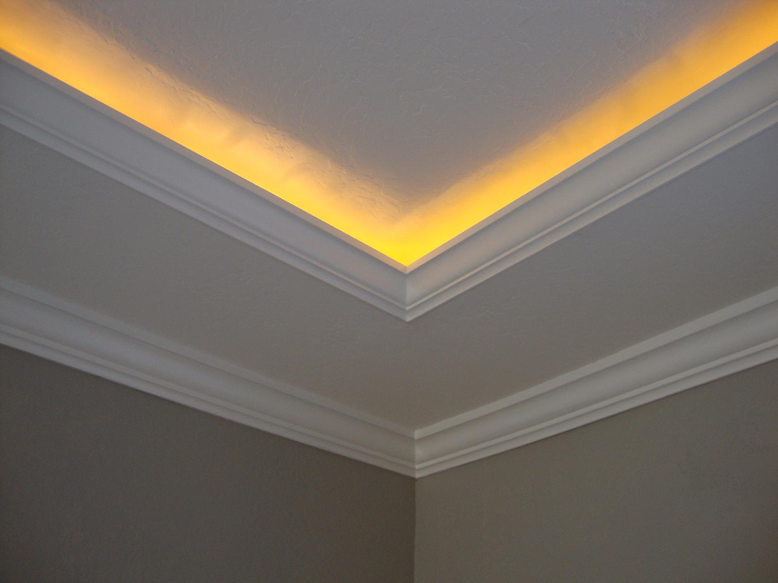 crown moulding lighting. Bay Sun Electric. SaveEnlarge · Crown Molding With Led Lights Moulding Lighting